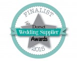 Dorset Wedding Supplier Awards 2015  - FINALIST - Bridal