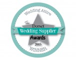 Dorset Wedding Supplier Awards 2015  - WINNER - Wedding Attire