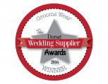 Dorset Wedding Supplier Awards 2016  - WINNER - Groomswear